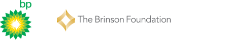 The Brinson Foundation logo and BP logo