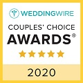 2020 Wedding Wire Couple's Choice Award