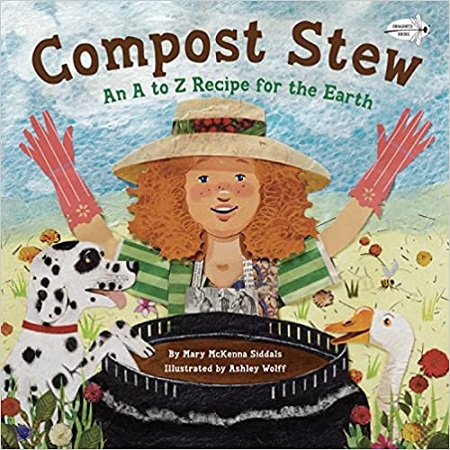 The cover of the book, Compost Stew.