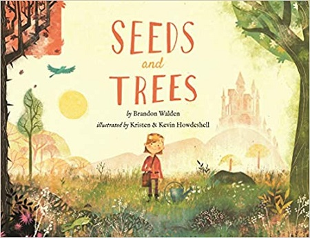 """Front cover of the book, """"Seeds and Trees""""."""