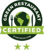 Level 2 Certified Green Restaurant® badge