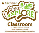 Nature Explore Certified Classroom logo