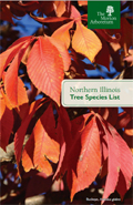 Northern Illinois Species List brochure cover
