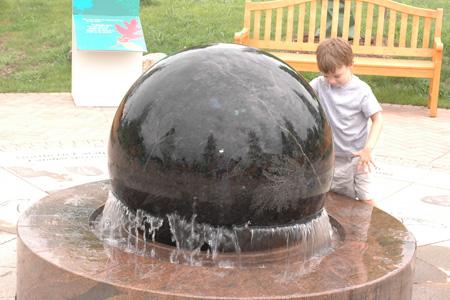 Central Plaza at the Children's Garden