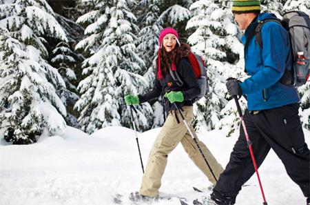 Ski or snowshoe at The Morton Arboretum