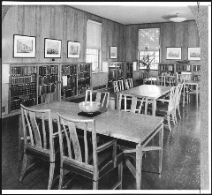 First library in the Admin Building