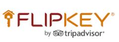 Logo for Flipkey, Tripadvisor site