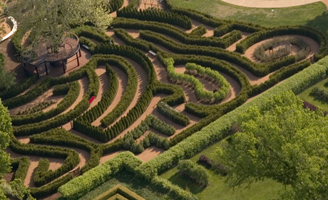 Maze Garden at The Morton Arboretum