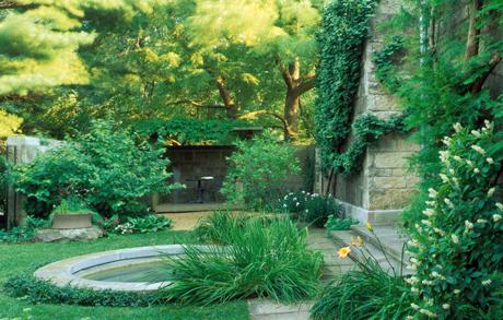 Reading Garden at The Morton Arboretum