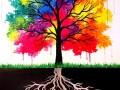 Arboretum Uncorked: Vibrant Trees