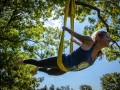 Aerial Tree Yoga