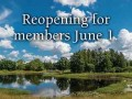 Arboretum reopening to members June 1